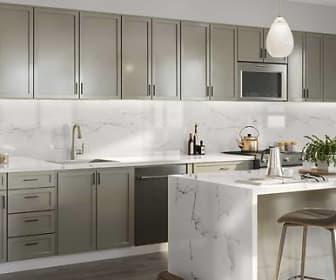 Phase II Signature Collection Kitchen (Rendering), Avalon Walnut Creek