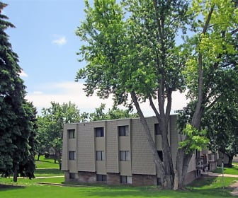 Building, Willow Wood Apartments