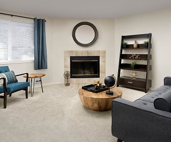 Living Room, Creekside Apartments
