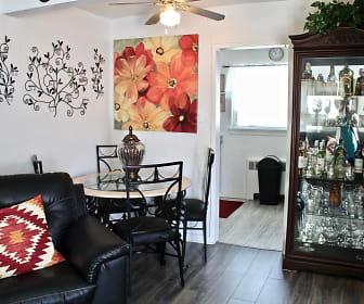 Dining Room, Penn Garden Apartments