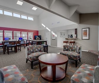 Clubhouse where resident events are hosted, Towne Centre Village