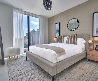 Bedroom, Park-Line Miami at Virgin MiamiCentral