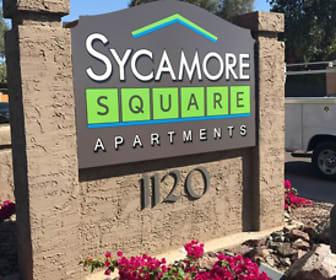 Community Signage, Sycamore Square