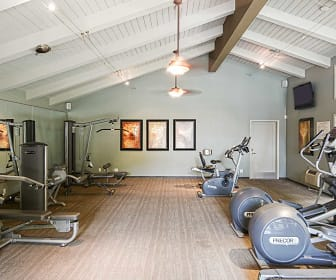 Fitness Weight Room, Village Lake Apartments