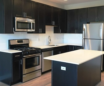 Kitchen, Sayre Residences