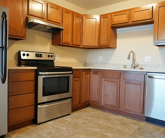 Kitchen, Parkside Townhomes