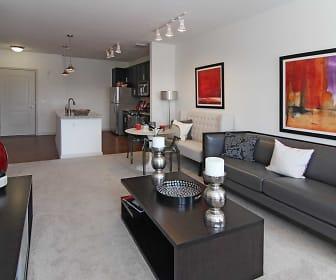 Living Room, East Side Flats