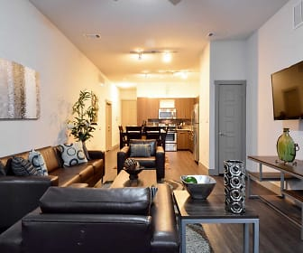 Living Room, Oso Verde Student Apartments