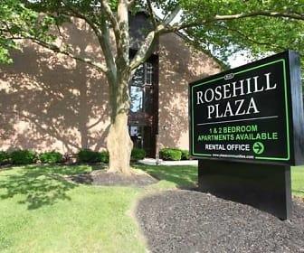 Community Signage, Rosehill Plaza