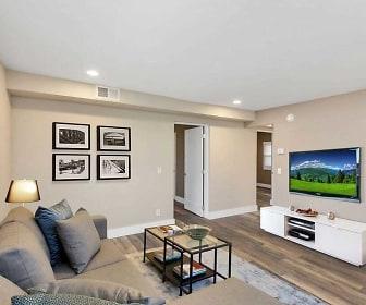 Living Room, Nine-4-Nine Apartments