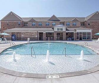 Pool, Keystone at Walkertown Landing Apartments