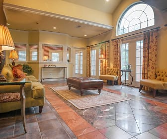 community lobby with tile floors and natural light, Retreat at Spring Park