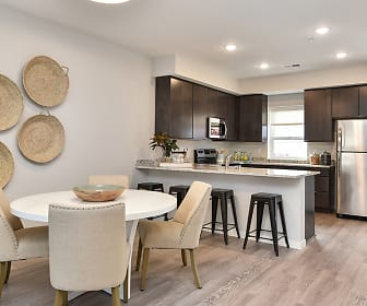 Dining Room, Henley Townhomes