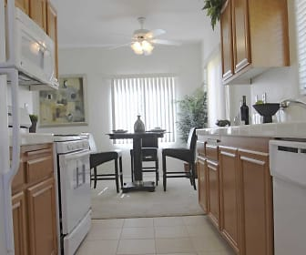 Kitchen, Andalusia Apartments
