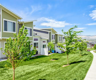 Building, Rockwell Village Townhomes