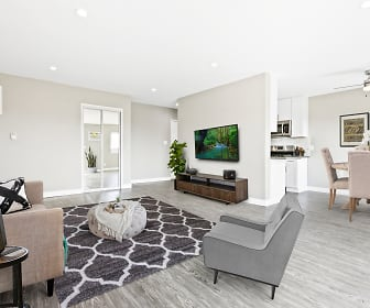 Living Room, Sepulveda West Apartments
