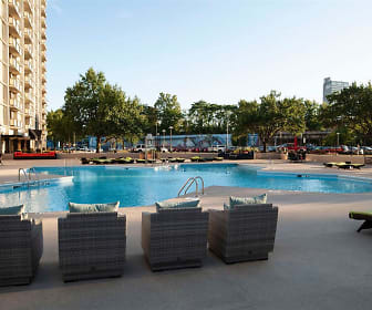 Pool, Three Rivers Luxury Apartments
