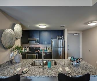 Kitchen, Shorecrest Club Apartments