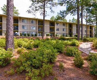 Building, Lake Clair Apartments