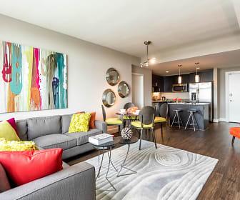 Living Room, The Avant At Reston Town Center