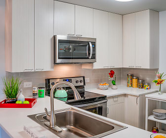 Kitchen, Arrowhead Apartments