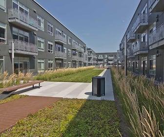 DuCharme Place Apartments, Lafayette Park, Detroit, MI