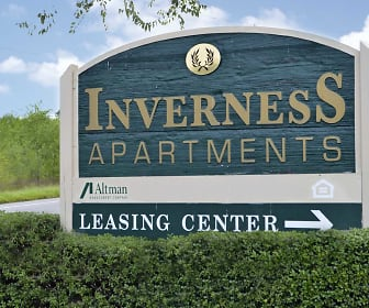 Community Signage, Inverness Apartments