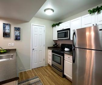 Kitchen, Pinecone Apartments