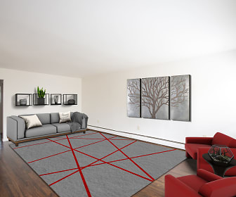 Living Room, Carlton Apartments