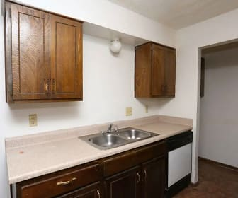 Kitchen, Foxcroft Apartments