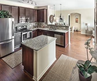 Kitchen, Claiborne Crossing Apartments