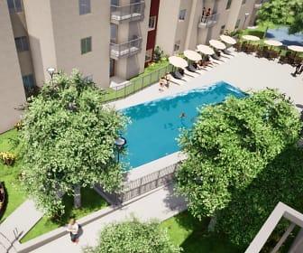 Pool, Topanga Ridge - Off Campus Housing