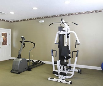 Interior-Fitness Weight Room, Lakeside Villas