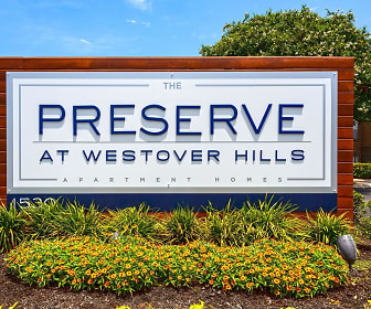 Community Signage, Preserve at Westover Hills Apartments