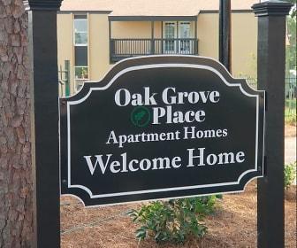 Community Signage, Oak Grove Place