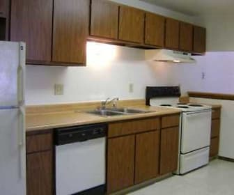Kitchen, Timmers Lane Apartments