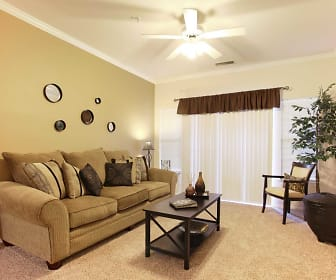 Living Room, The Fairways At Piper Glen