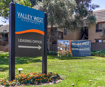 Community Signage, Valley West Apartments