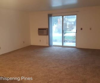 Living Room, Whispering Pines Apartments