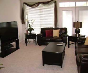 Plan F  Great Room, Butterfly Creek Villas