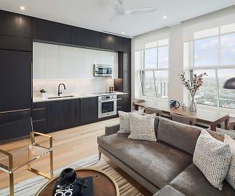 1 Bedroom Kitchen Modern, The Atlantic