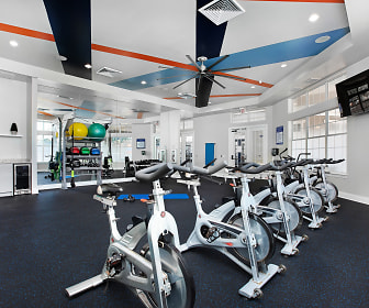 Fitness Weight Room, The Aspect Apartments