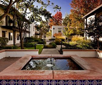 Water Fountains Throughout, Montecito Villas
