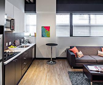 Living Room, Avalon North Point Lofts