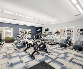 Fitness Weight Room, The Gardens Apartments