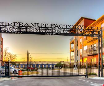 Community Signage, Peanut Factory Lofts