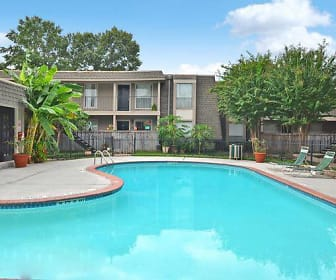 Pool, Crest Apartments, The