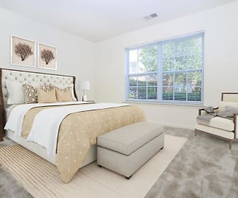 Bedroom, The Horizons at Franklin Lakes Apartment Homes