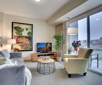 Living Room, West Side Flats