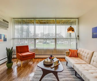 Living Room, Central Park Apartments